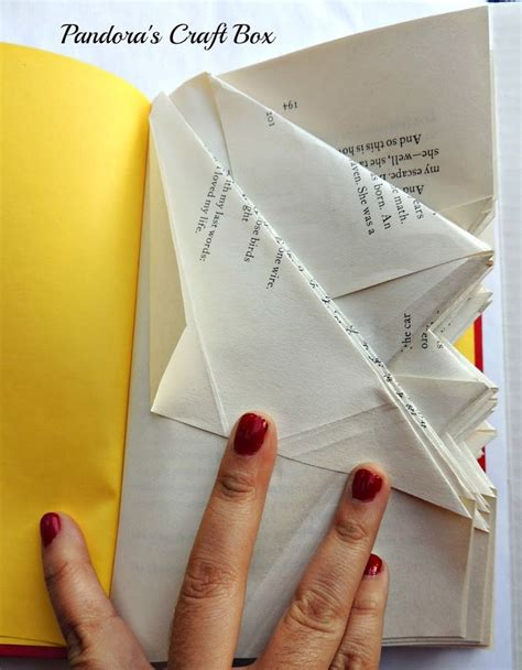 origami book fold 17 best ideas about recycled books on book
