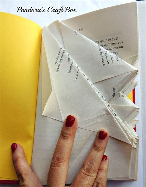 Book Fold Origami - les 1118 meilleures images 224 propos de book page folding