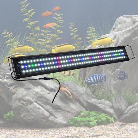 yescom led grow lights yescom 129 multi color led aquarium light extendable full