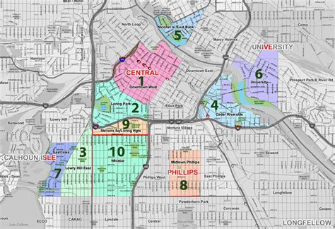 msp map minneapolis by zip code map