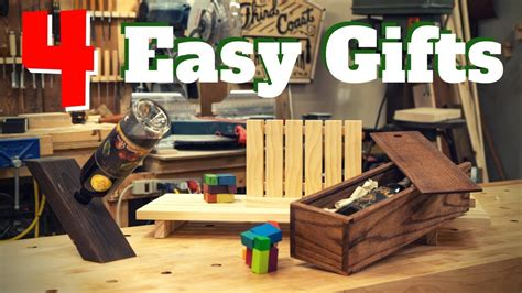 easy diy woodworking gift projects youtube