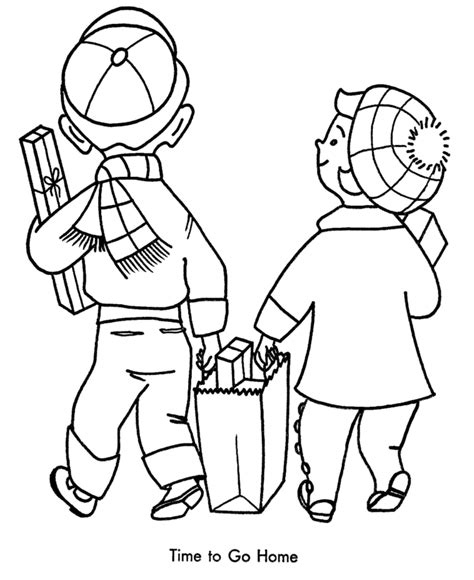 shopping coloring pages coloring home