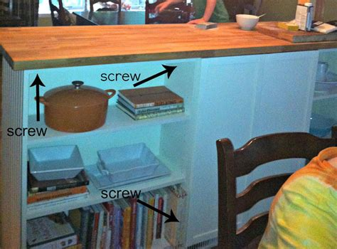 ikea hack make your own kitchen island pictures ikea hack make your own kitchen island better housekeeper