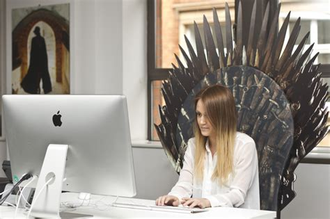 Iron Throne Office Chair by Now Tv Unveils Of Thrones Themed Throne Of Swords