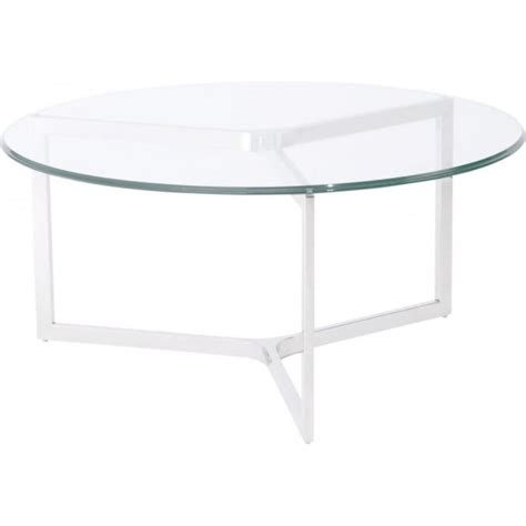 buy stainless steel and glass coffee table at fusion living