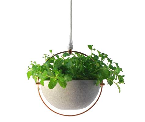 hanging pot terrazzo hanging pot bird feeder by panor 225 mica design milk