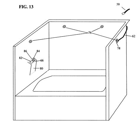 automatic bathtub cleaner patent us6463600 automatic shower and bathtub cleaner
