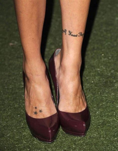 katie cassidy tattoos cassidys three tattoos