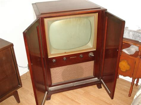 rca victor tv cabinet 1950 rca victor tv shop collectibles daily