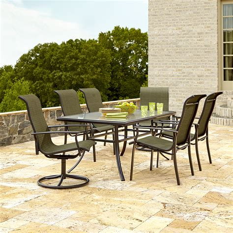 Sears Patio Table Green Patio Dining Sets Chairs Seating