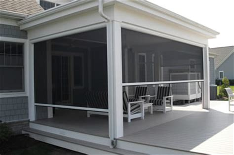 Pull Out Awnings For Decks Motorized Patio Shades Nashville Patio Porch And Screen