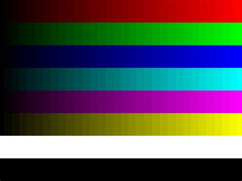 color bands calibrer 233 cran lcd pour de meilleurs r 233 sultats 2 232 me