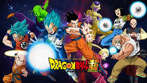 dragon ball universe wallpaper tournament of power universe 7 team wallpaper by