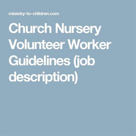 25 Best Ideas About Church Nursery On Pinterest Church Nursery Decor Kids Church Rooms And Church Volunteer Description Template