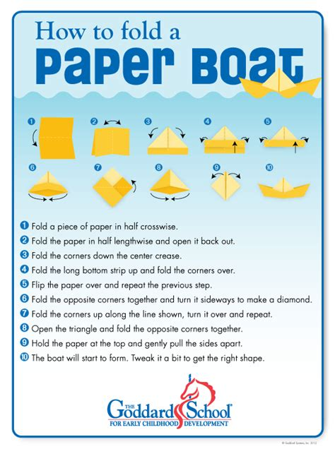 how to make a paper double boat make a paper boat with your children will it sink or