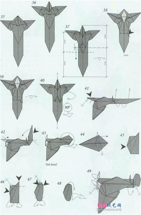 Directions To Make Paper Airplanes - origami paper airplanes 6 paper planes