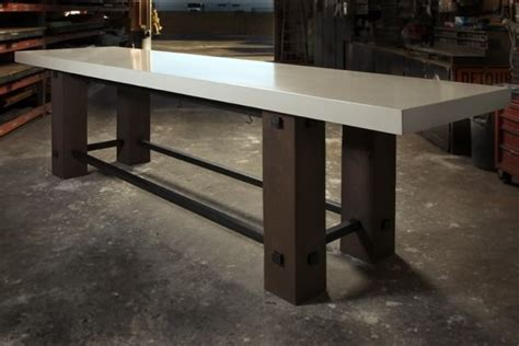 White Concrete Table Top My Style