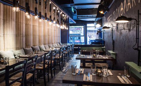 design cafe greek street suvlaki restaurant review london uk wallpaper