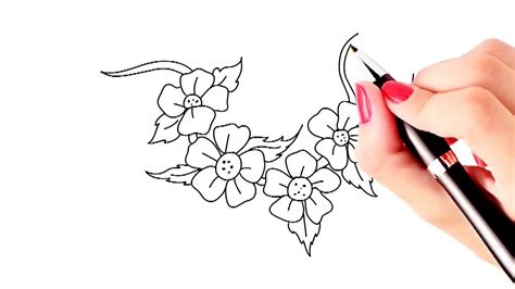 doodle drawings how to how to draw beautiful flowers for beginners archives