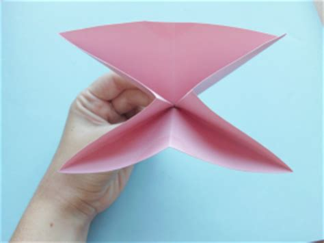 Flat Origami Butterfly - how to fold an origami butterfly woo jr activities