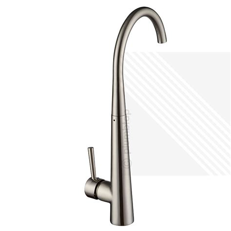 Arian Honey Single Lever Kitchen Mixer Tap Brushed Nickel