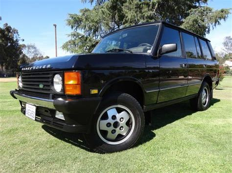how to learn about cars 1993 land rover range rover classic lane departure warning purchase used 1993 range rover county lwb in san diego california united states