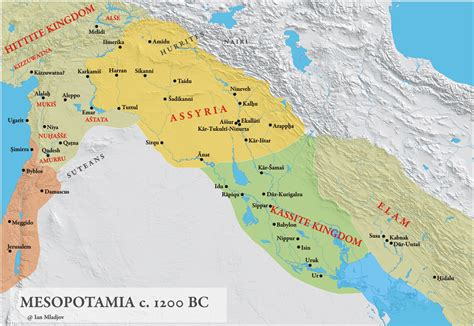 ancient mesopotamia map ihmc cmaps 3