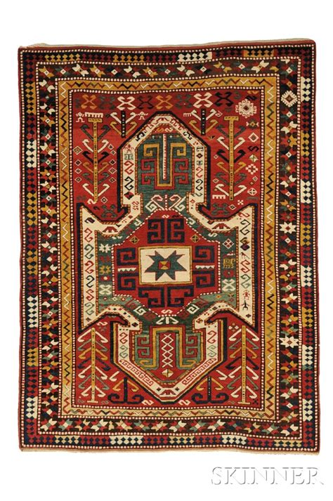 Rug Identification by Sewan Kazak Rug Sale Number 2653b Lot Number 121