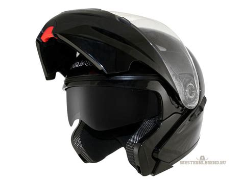 Black Hawk Leather Black Blue hawk black glossy modular helmet