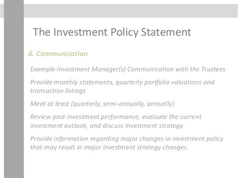 investment policy statement template generational wealth management week 4
