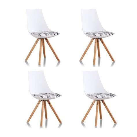 Lot 4 Chaises by Lot 4 Chaises Design Blanches Minsk Achat Vente Chaise