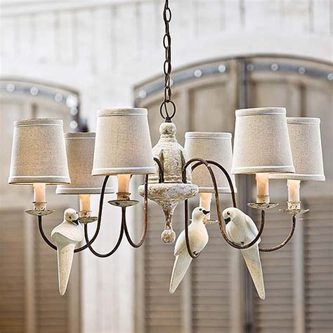 Bird Chandelier Lighting Lighting Bleue Pi 232 Ce