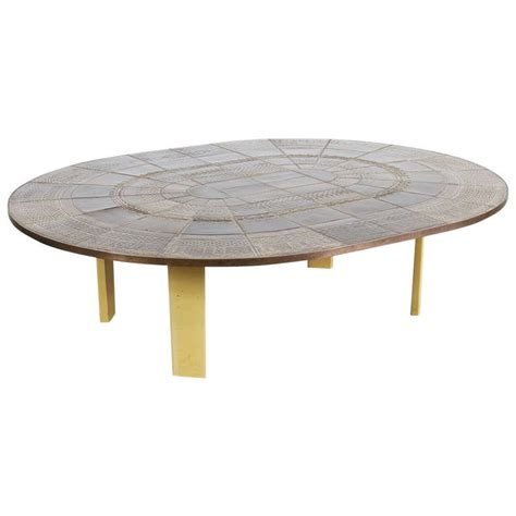 Ceramic Coffee Tables Bjorn Wiinblad Ceramic Coffee Table Circa 1960 For Sale At 1stdibs