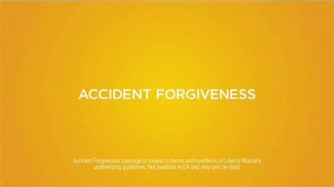 liberty mutual actress accident forgiveness accident forgiveness