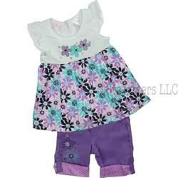 Adorable toddler girls clothes toddler girl capri set by nannette