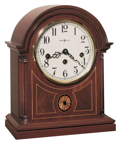 Oval Office Decor by Howard Miller Barrister Mantle Clock 613180