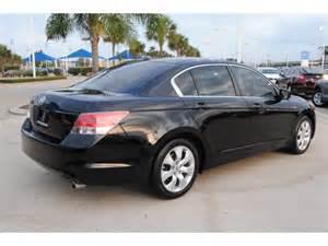 honda accord 2009 black sedan ex l gasoline 4 cylinders