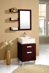 Vanity Shelves Bathroom Simple Wood Bathroom Mirrors With Shelves And Small Wood Vanity Cabinet And White Wash