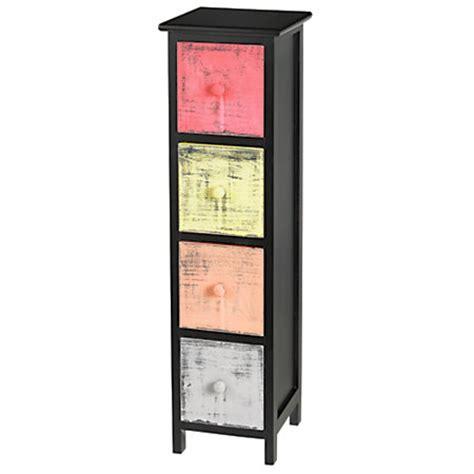 Slim Drawer Cabinet realspace 4 drawer slim storage cabinet 32 14 h x 10 716 w