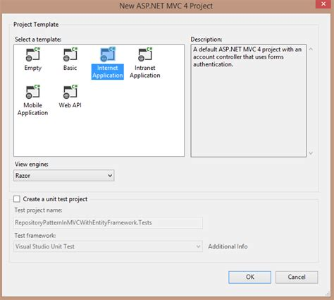 Repository Pattern C Mvc 4 | repository pattern in mvc application using entity framework