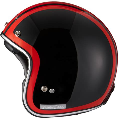 Helm Ltd Limited Edition Black Clash Bullet Speed Open Scooter
