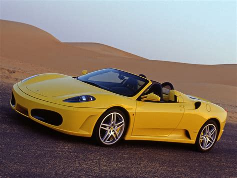 Yellow F430 2005 F430 Spider Yellow Side Angle 1280x960