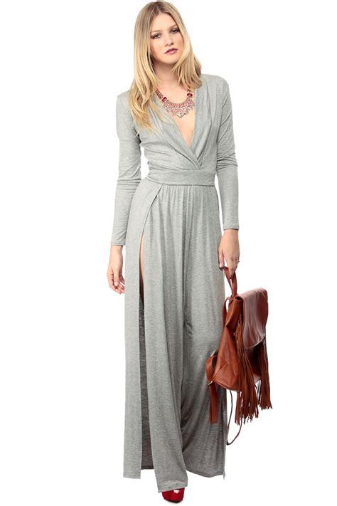 Jumpsuit Dress gray and dressy palazzo jumpsuit cicihot dresses