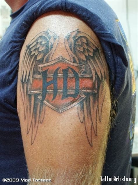 small harley davidson tattoos the 25 best harley tattoos ideas on harley