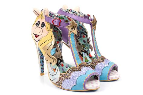 piggys shoes for irregular choice s new muppets shoe line has miss piggy