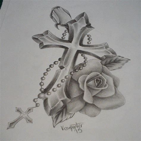 cross tattoo design on instagram