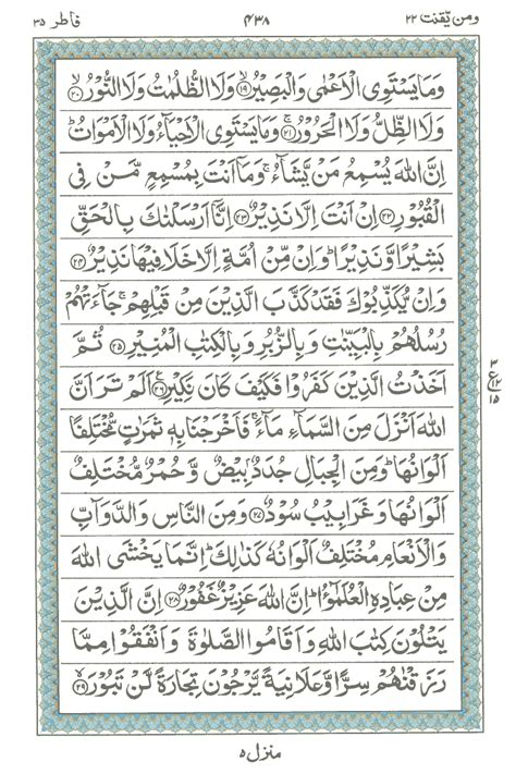 surah  al fatir read holy quran