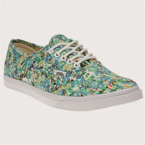 Diskon Vans Authentic Lo Pro Ditsy Floral Pool Green Original loved by lizzi i m loving