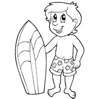 hawaii coloring pages surfer girl hawaii coloring pages beach 187 coloring pages 187 surfnetkids