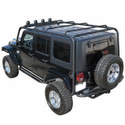 j020 trail fx black roof rack jeep wrangler 4 door 2007